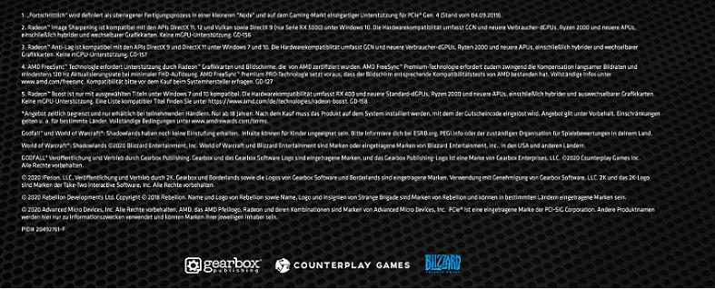 AMD Radeon Game Bundle