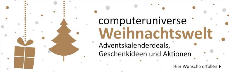 Weihnachten bei computeruniverse
