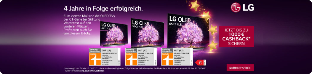 LG OLED C1 Cashback