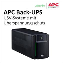 APC Überspannungsschutz und Stromversorgungslösungen