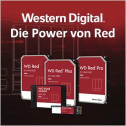 WD Red Festplatten