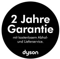 2-Jahres-Garantie von Dyson