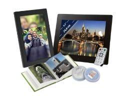Digitale Bilderrahmen und Fotoalben