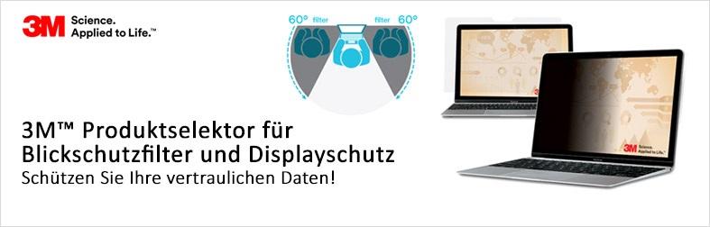3M Blickschutzfilter und Displayschutzfolien