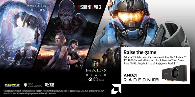AMD Raise the game Bundle Radeon RX 5700 XT