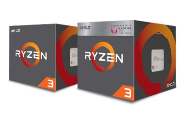 AMD Ryzen™ 3 Desktop Prozessoren