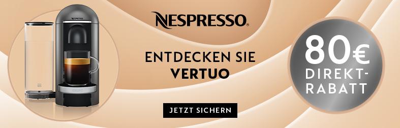 Nespresso Vertuo Aktionsrabatt