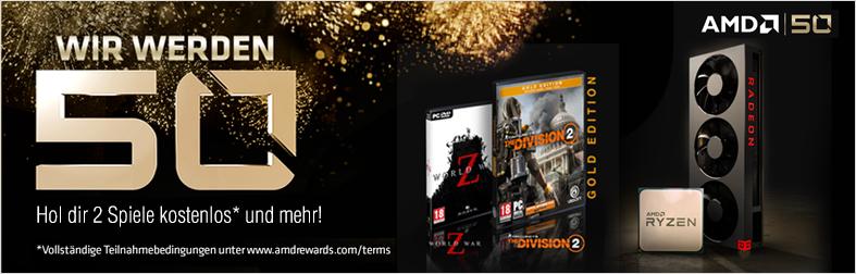 AMD Aktion 2 Spiele kostenlos