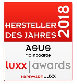 Hardwareluxx Hersteller des Jahres