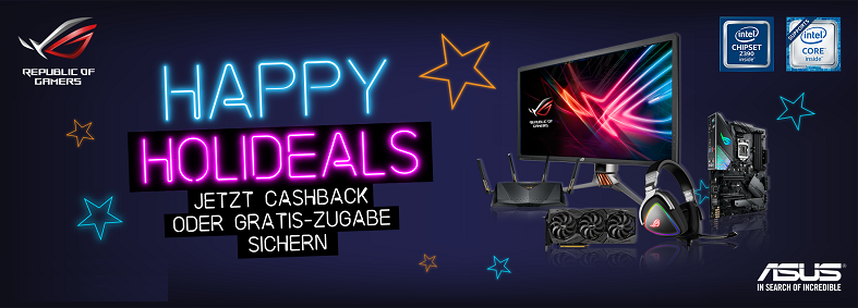 ASUS Happy Holideals