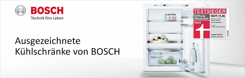 Ausgezeichnete Kühlschränke von Bosch