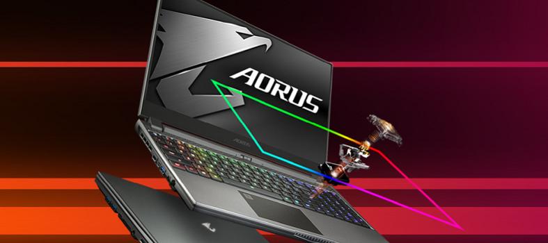 Spielen wie ein Profi mit Gigabyte Aorus Gaming Notebook