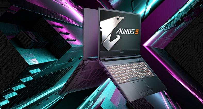 Gigabyte Aorus 5 Gaming-Laptop