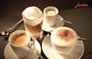 Jura Kaffeemaschinen für beste Kaffee-Resultate