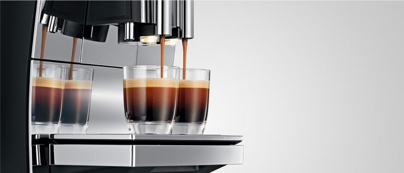 Espressomaschinen und Kaffeevollautomaten für den Haushalt