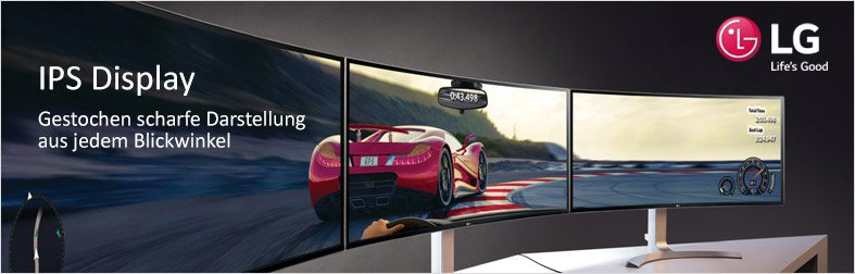 LG Monitore IPS Display
