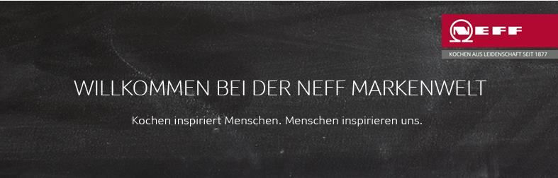 Neff Markenwelt