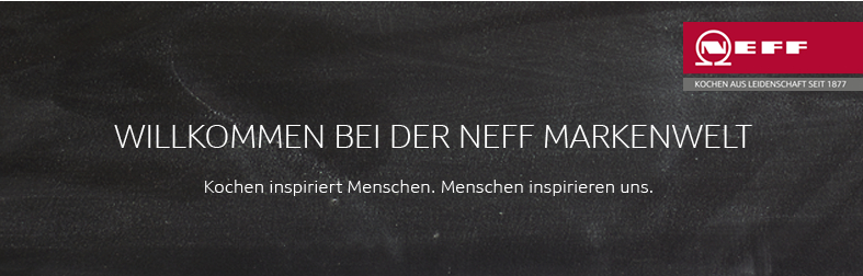 Banner Neff Markenwelt