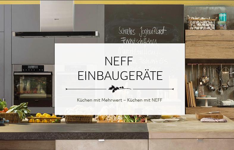 Neff Banner Einbaugeräte