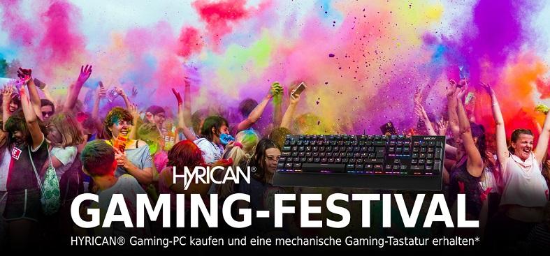 HYRICAN® GAMING FESTIVAL 2019