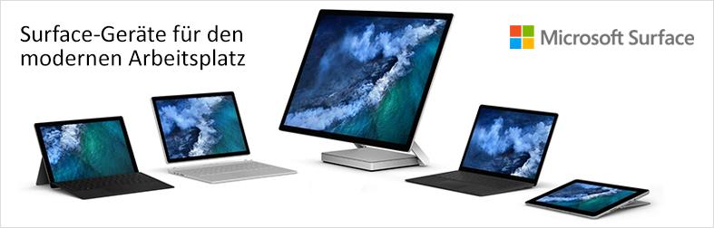 Microsoft Surface für Geschäftskunden
