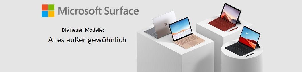 Microsoft Surface Neuheiten