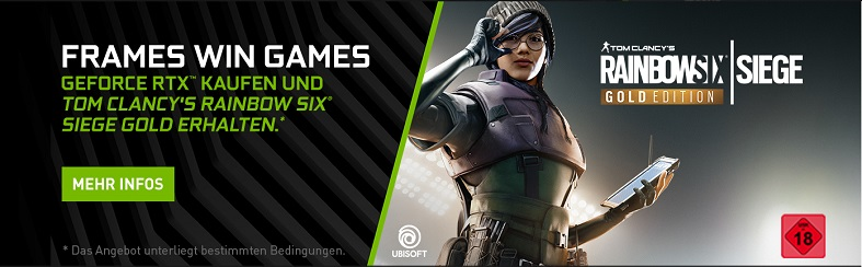 Nvidia RTX Rainbow Six Bundle