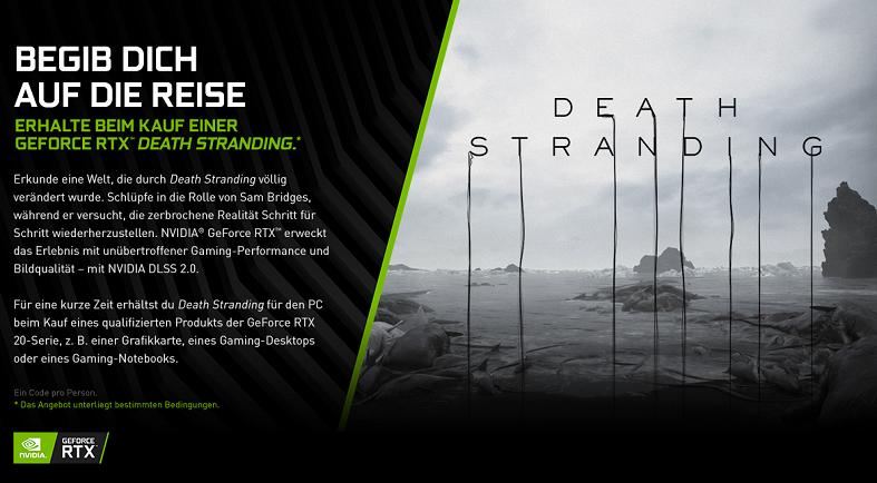 Nvidia RTX Bundle Death Stranding