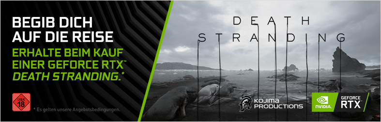 Nvidia RTX Bundle Death Stranding
