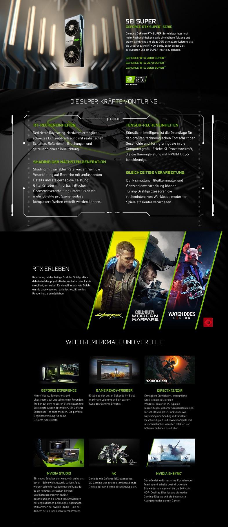 NVIDIA GeForce RTX Super Serie