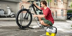 Kärcher Fahrradreinigung