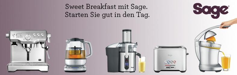 Sage Küchengeräte für das Frühstück
