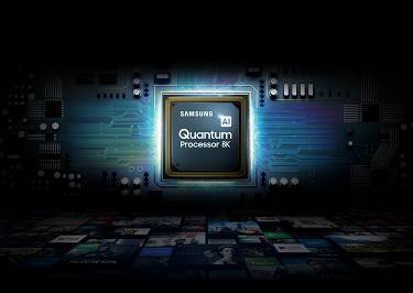 Samsung QLED TV 8K Quantum Prozessor