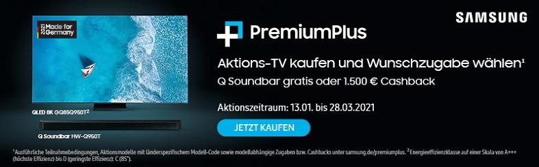 Samsung PremiumPlus Aktion