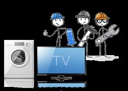 Haushalts- und TV-Geräte