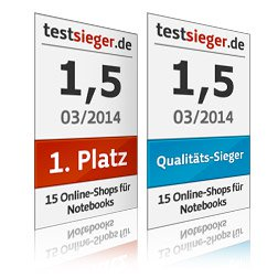 testsieger Notebooks