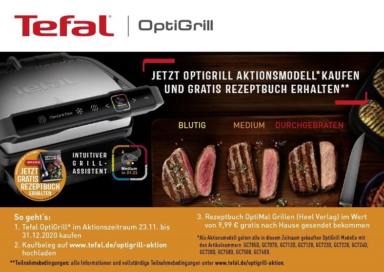 Tefal Optigrill Aktion