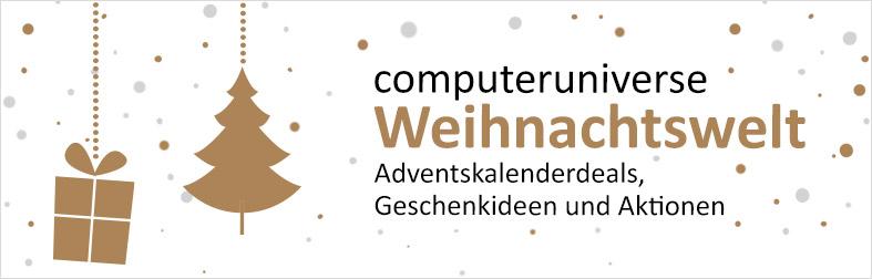 computeruniverse Weihnachtswelt