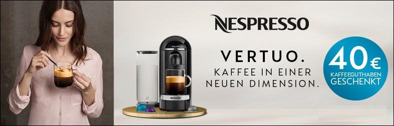Nespresso Vertuo Sparaktion
