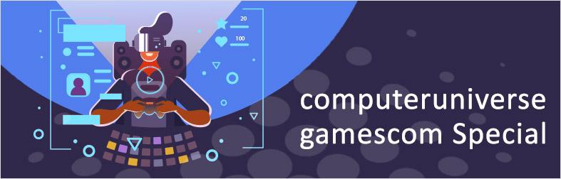 Gamescom Special bei computeruniverse