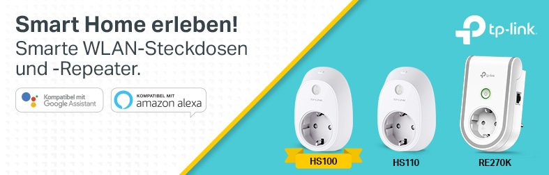 TP-LINK WLAN Steckdosen udn Repeater