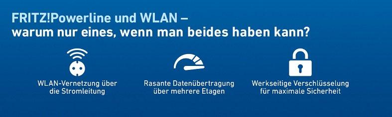 AVM FRITZ! Powerline und WLAN