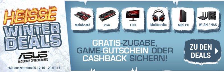 ASUS Cashback-Aktion