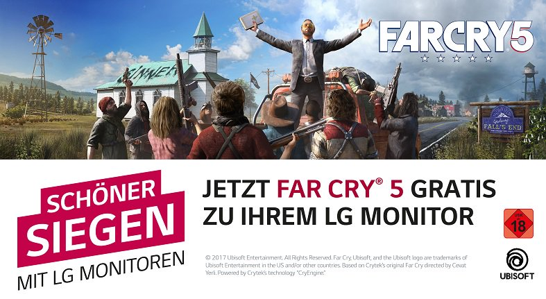 Fary Cry 5 Gratis sichern