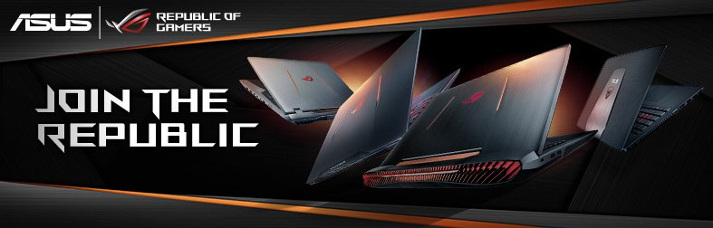 ASUS ROG Gaming Notebooks