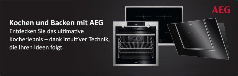 Kochen und Backen mit AEG