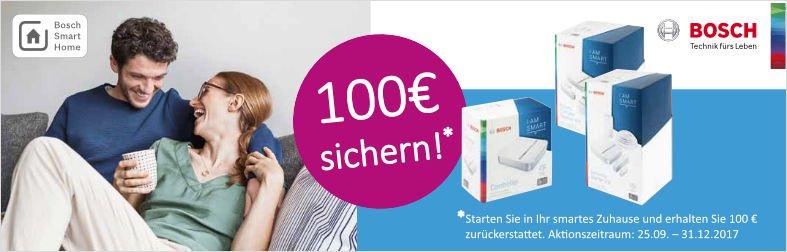 Bosch 100€ zurück!