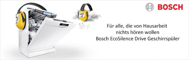 Bosch EcoSilence Geschirrspüler