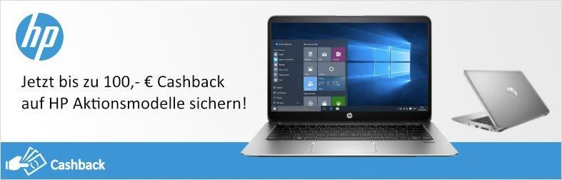 HP Cashback-Aktion