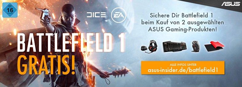 Jetzt Battlefield 1 gratis sichern!